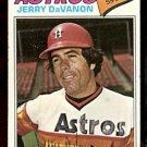 HOUSTON ASTROS JERRY DaVANON 1977 TOPPS # 283 G/VG