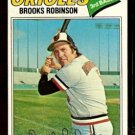 BALTIMORE ORIOLES BROOKS ROBINSON 1977 TOPPS # 285