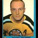 BOSTON BRUINS DOUG MOHNS 1962 TOPPS # 6 NR MT