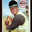 PITTSBURGH PIRATES MANNY MOTA 1969 TOPPS # 236 good