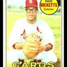 ST LOUIS CARDINALS DAVE RICKETTS 1969 TOPPS # 232 G/VG