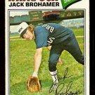 CHICAGO WHITE SOX JACK BROHAMER 1977 TOPPS # 293 VG