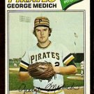 PITTSBURGH PIRATES GEORGE MEDICH 1977 TOPPS # 294 VG