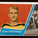 BOSTON BRUINS ORLAND KURTENBACH 1963 TOPPS # 20 NM