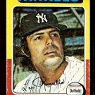 NEW YORK YANKEES LOU PINIELLA 1975 TOPPS # 217 good
