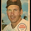BALTIMORE ORIOLES BROOKS ROBINSON 1967 TOPPS PINUP # 3