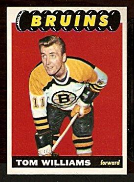 BOSTON BRUINS TOM WILLIAMS 1965 TOPPS # 35 EM+