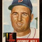 BOSTON RED SOX GEORGE KELL 1953 TOPPS # 138 VG/EX