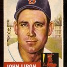 BOSTON RED SOX JOHN LIPON 1953 TOPPS # 40 VG