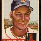 BOSTON RED SOX CLYDE VOLLMER 1953 TOPPS # 32 good