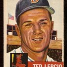 BOSTON RED SOX TED LEPCIO 1953 TOPPS # 18 good
