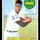 WASHINGTON SENATORS ED STROUD 1969 TOPPS # 272 G/VG