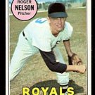 KANSAS CITY ROYALS ROGER NELSON 1969 TOPPS # 279 EM/NM