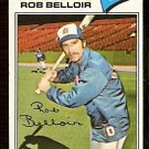 ATLANTA BRAVES ROB BELLOIR 1977 TOPPS # 312 VG