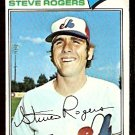 MONTREAL EXPOS STEVE ROGERS 1977 TOPPS # 316 good