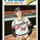 MINNESOTA TWINS DAVE GOLTZ 1977 TOPPS # 321 good