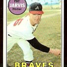 ATLANTA BRAVES PAT JARVIS 1969 TOPPS # 282 VG
