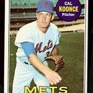 NEW YORK METS CAL KOONCE 1969 TOPPS # 303 VG+