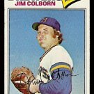 MILWAUKEE BREWERS JIM COLBORN 1977 TOPPS 331 good