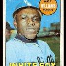 CHICAGO WHITE SOX WALT WILLIAMS 1969 TOPPS # 309 fair