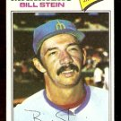 SEATTLE MARINERS BILL STEIN 1977 TOPPS # 334
