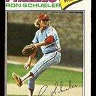PHILADELPHIA PHILLIES RON SCHUELER 1977 TOPPS # 337 VG/EX