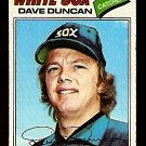 CHICAGO WHITE SOX DAVE DUNCAN 1977 TOPPS # 338 VG