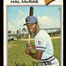 KANSAS CITY ROYALS HAL McRAE 1977 TOPPS # 340 good