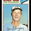 MONTREAL EXPOS JOE KERRIGAN 1977 TOPPS # 341 EX