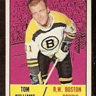BOSTON BRUINS TOM WILLIAMS 1967 TOPPS # 40 EX+/EM