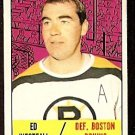 BOSTON BRUINS ED WESTFALL 1967 TOPPS # 95 EX/EM