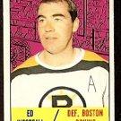 BOSTON BRUINS ED WESTFALL 1967 TOPPS # 95 EX/EM