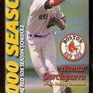 2000 BOSTON RED SOX POCKET SCHEDULE NOMAR GARCIAPARRA