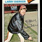 HOUSTON ASTROS LARRY DIERKER 1977 TOPPS # 350 VG