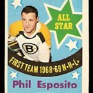 BOSTON BRUINS PHIL ESPOSITO ALL STAR 1969 OPC # 214