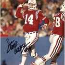 NEW ENGLAND PATRIOTS STEVE GROGAN AUTOGRAPHED PHOTO WITH COA