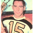 BOSTON BRUINS MILT SCHMIDT AUTOGRAPHED PHOTO