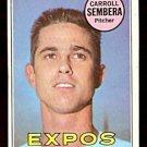 MONTREAL EXPOS CARROLL SEMBERA 1969 TOPPS # 351 VG