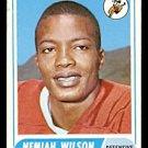 DENVER BRONCOS NEMIAH WILSON 1968 TOPPS # 199 VG