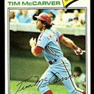 PHILADELPHIA PHILLIES TIM McCARVER 1977 TOPPS # 357 EX