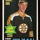 BOSTON BRUINS BOBBY ORR ALL STAR 1970 OPC # 236 NM O PEE CHEE