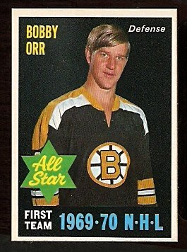 BOSTON BRUINS BOBBY ORR ALL STAR 1970 OPC # 236 NM O PEE CHEE