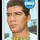 CINCINNATI REDS PAT CORRALES 1969 TOPPS # 382 VG/EX