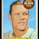 SAN DIEGO PADRES BOBBY KLAUS 1969 TOPPS # 387 good