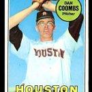 HOUSTON ASTROS DAN COOMBS 1969 TOPPS # 389 EM/NM