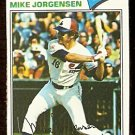 MONTREAL EXPOS MIKE JORGENSEN 1977 TOPPS # 368 VG