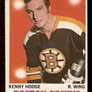 BOSTON BRUINS KEN HODGE 1970 OPC O PEE CHEE  # 8 EX/EM