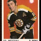 BOSTON BRUINS ED WESTFALL 1970 OPC O PEE CHEE  # 139 NM
