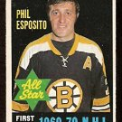 BOSTON BRUINS PHIL ESPOSITO ALL STAR 1970 OPC O PEE CHEE  # 237 EX/EM