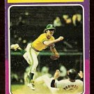 ALCS OAKLAND ATHLETICS BALTIMORE ORIOLES 1975 TOPPS # 459 G/VG